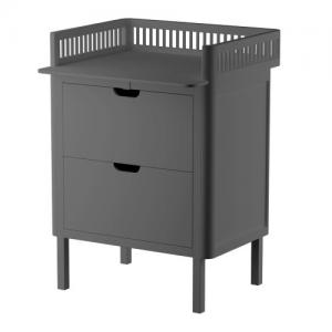 Sebra Changing Unit with Drawers Classic Grey