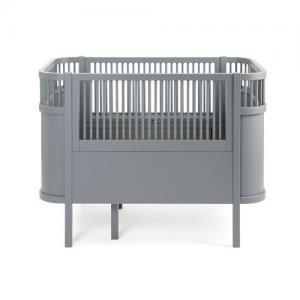 Sebra Baby & Junior Bed Classic Grey, FSC Mix Ecolabel
