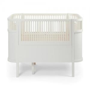 Sebra Bed, Baby & Jr., Classic white, FSC Mix Ecolabel