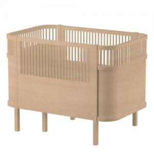 Sebra Växasäng Baby & Junior Wooden Edition