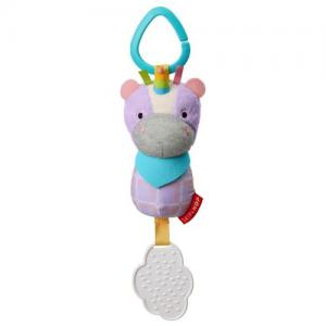 Skip Hop Bandana Buddies Unicorn Stroller Toy Rattle & Teether