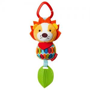 Skip Hop Bandana Buddies Lion Stroller Toy Rattle & Teether