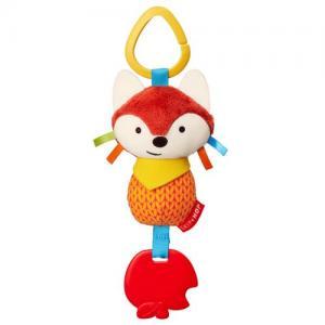 Skip Hop Bandana Buddies Fox Stroller Toy Rattle & Teether