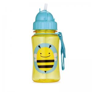 Skip Hop Bottle With Straw Zoo Bi