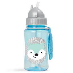 Skip Hop Bottle With Straw Zoo Winter Fox