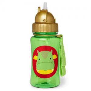 Skip Hop Bottle With Straw Zoo Dragon