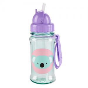 Skip Hop Bottle With Straw Zoo Koala