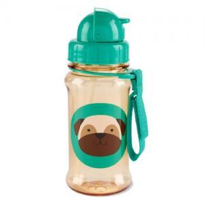 Skip Hop Bottle With Straw Zoo Dog