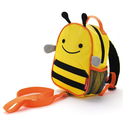 Skip Hop Mini Ryggsäck med säkerhetsrem Zoo Let Bi