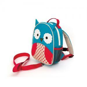 Skip Hop Mini Ryggsäck med säkerhetsrem Zoo Let Uggla