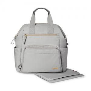 Skip Hop Backpack Mainframe Cement - wide open