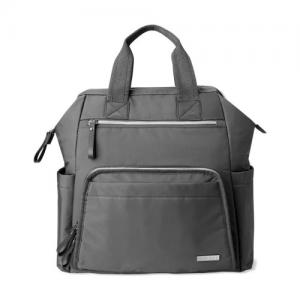 Skip Hop Backpack Mainframe Charcoal - wide open