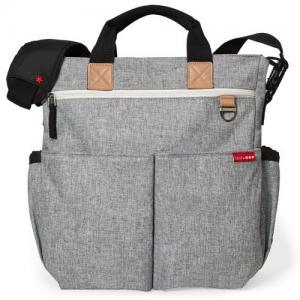 Skip Hop Diaper Bag Dou Signature Grey Melange