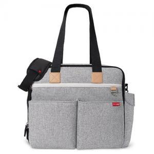 Skip Hop Nursery Bag Duo Weekender Grey