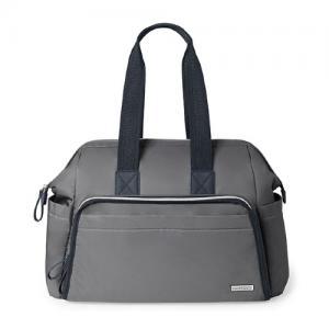 Skip Hop Nursery Bag Mainframe Slate - wide open