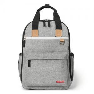 Skip Hop Nursery Bag Backpack Duo Signature Grey Melange