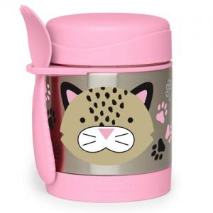 Skip Hop Zoo Food Thermos Leopard