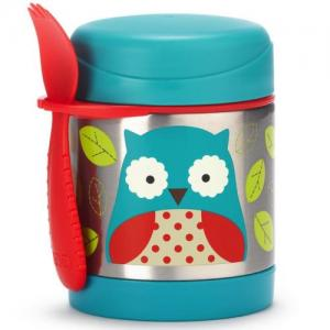 Skip Hop Zoo Food Thermos Owl