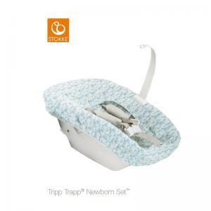 Stokke Tripp Trapp Newborn Textile Set Aqua (Textilset för nyfödd)