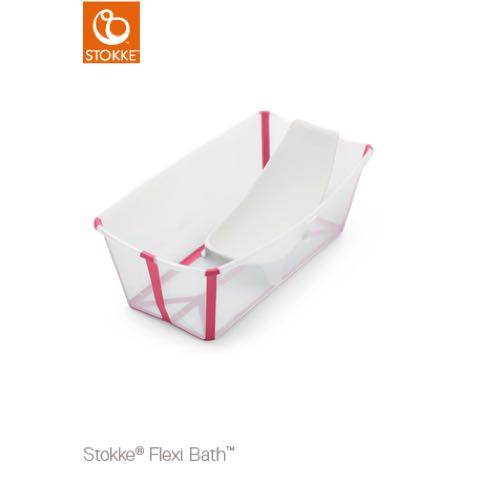 STOKKE Flexi Bath Badbalja Transparent Rosa