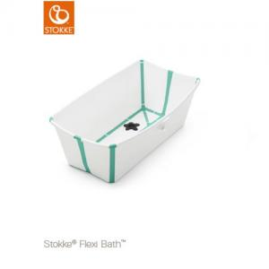 STOKKE Flexi Bath Tub White aqua