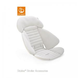 Stokke Stroller Seat Inlay Chalk Grey