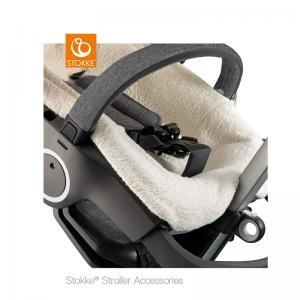 Stokke Stroller Terry Cloth Cover Off-White