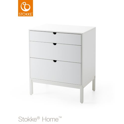 Stokke Home Dresser White (Changer Top can be added)