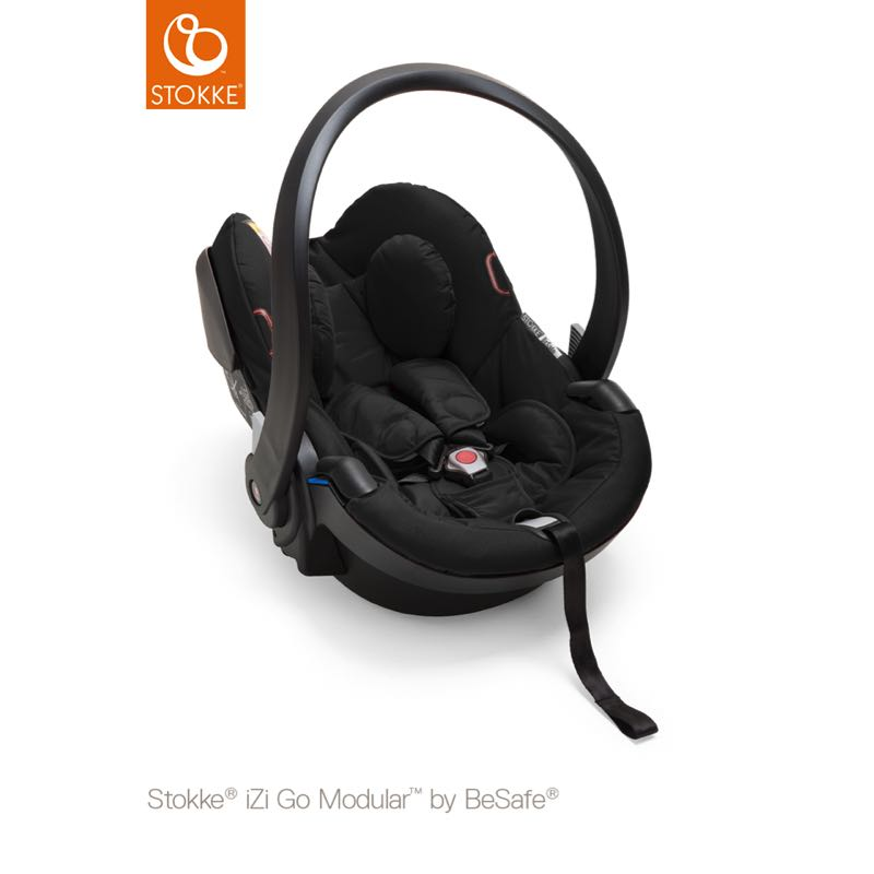 Stokke iZi Go Modular by BeSafe Babyskydd Black