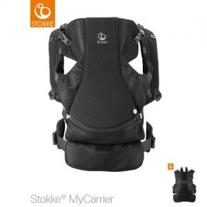 Stokke MyCarrier Front & Back Carrier Black Mesh