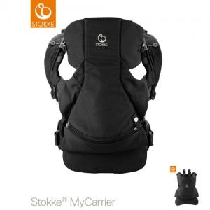 Stokke MyCarrier Front & Back Carrier Black