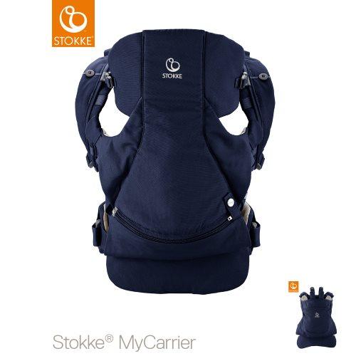 Stokke MyCarrier Front & Back Carrier Deep Blue