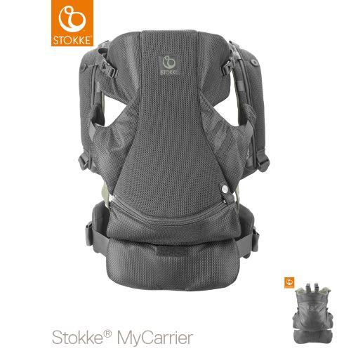 Stokke MyCarrier Front & Back Carrier Green Mesh