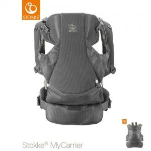 Stokke MyCarrier Front & Back Carrier Green Mesh