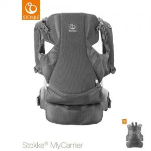 Stokke MyCarrier Front & Back Carrier Grey Mesh