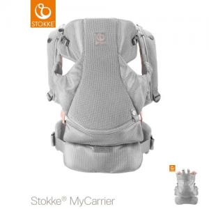 Stokke MyCarrier Front & Back Carrier Pink Mesh