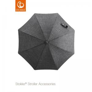 Stokke Stroller Parasol Black Melange