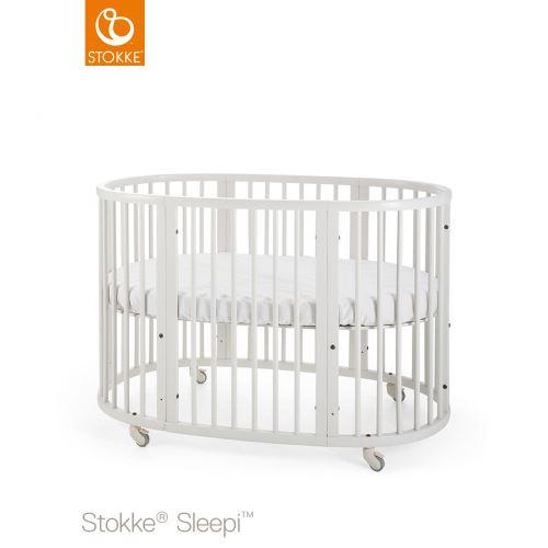 Stokke Sleepi Bed 120 cm incl. Mattress White