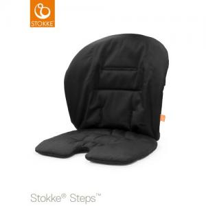 Stokke Steps Baby Set Cushion Black (Babyset kudde)