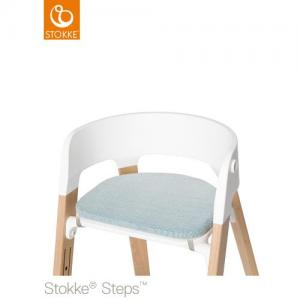 Stokke Steps Chair Cushion Jade Twill