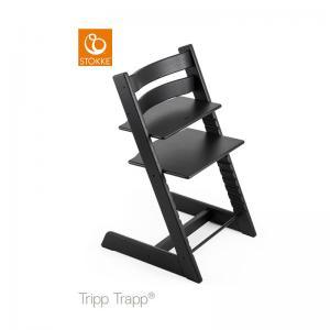 Stokke Tripp Trapp Stol Oak Black