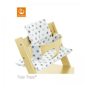 Stokke Tripp Trapp Classic Cushion Aqua Star ( Klassisk Dyna )