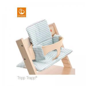 Stokke Tripp Trapp Classic Cushion Aqua Stripes (Dyna)
