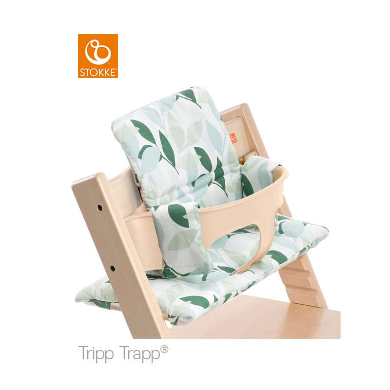 Utrolig Stokke Tripp Trapp Classic Baby Cushion Green Forest Lilla Violen XS-59