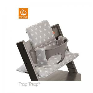 Stokke Tripp Trapp Classic Cushion Grey Star ( Klassisk Dyna )