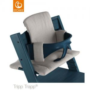 Stokke Tripp Trapp Classic Cushion Grey Melange ( Klasssisk Dyna )