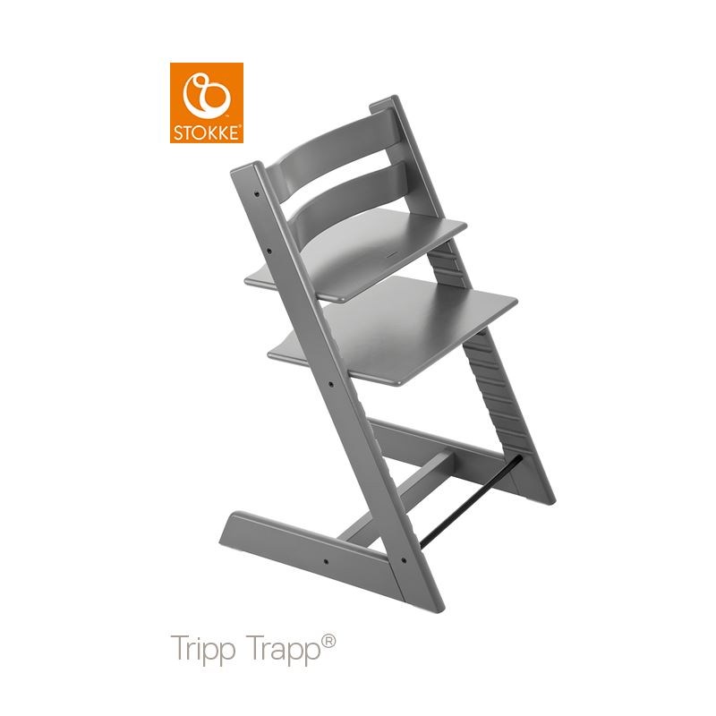 Stokke Tripp Trapp Stol Classic Collection Storm Grey
