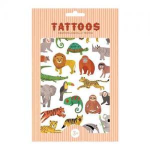 Petit Monkey Tatuering Tattoos Djungel