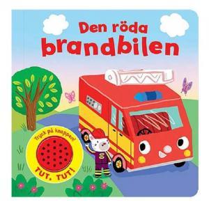 Teddykompaniet Book The Red Fire Truck (With Sound)