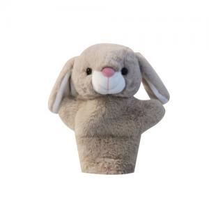 Teddykompaniet Handdocka Kanin Sand
